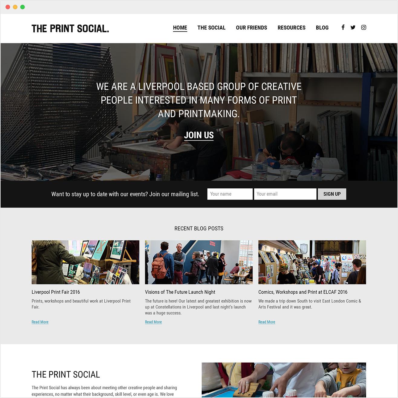 Freelance Web Designer Liverpool - Abigail Sinclair